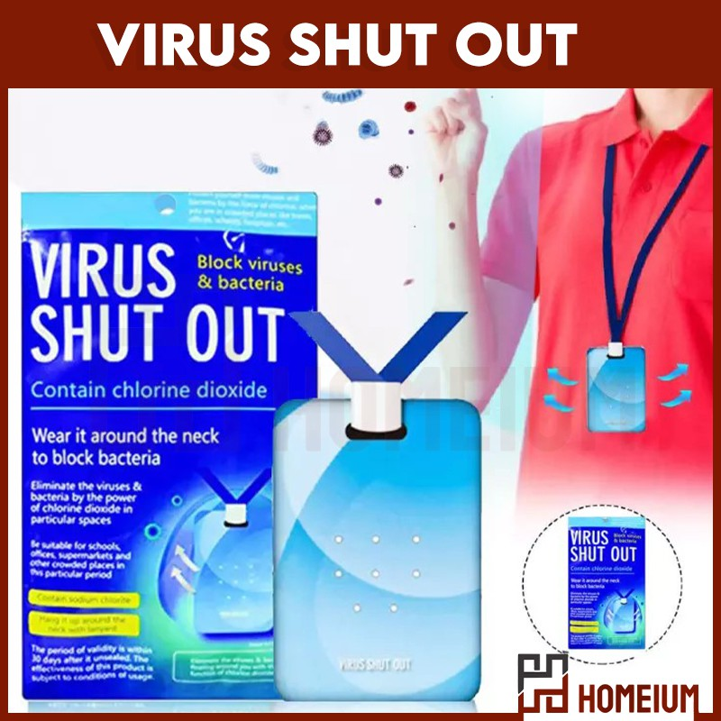 Mytools 30 Days Space Sanitation Disinfection Card Virus Shut Out Card