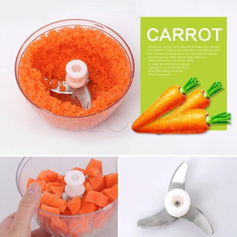 Mytools Mini Food Chopper USB Rechargeable Garlic Chopper Grinder Electric Food Mincer Shredder