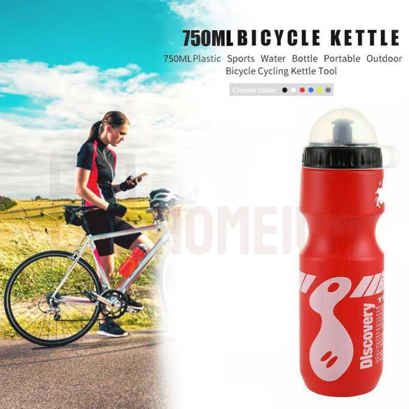 750ML Portable Drink Jug Water Bottle Cycling Outdoor Sports Bike Bicycle Sports Drink Organizer
