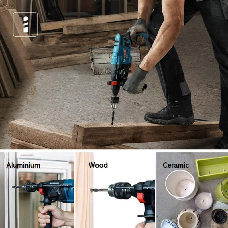 BOSCH GBH220 ELECTRIC PROFESSIONAL ROTARY HAMMER (720W)