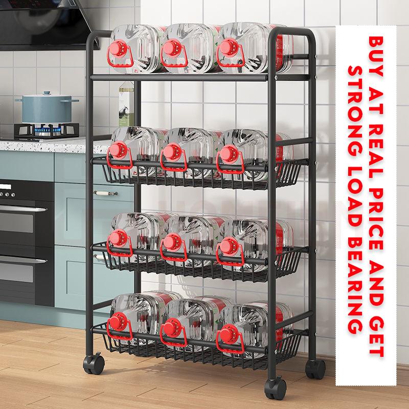 Mytools Kitchen Shelf Floor Multi-layer Storage Rack Removable Fruit and Vegetable Rack Living Room