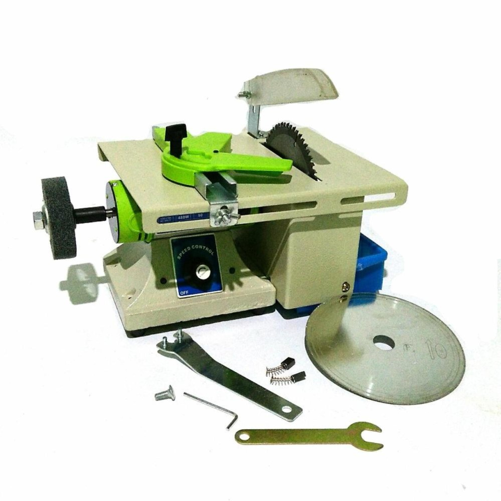 Mini Multifunction DIY Machine Polisher Table Saw Kit