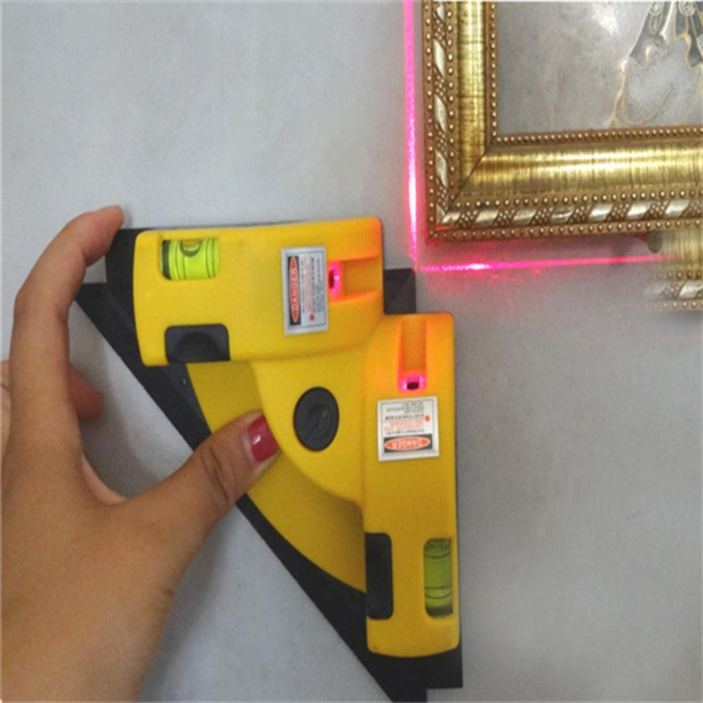 Cross Line Level 90 Degree Laser Right Angle Line Instrument