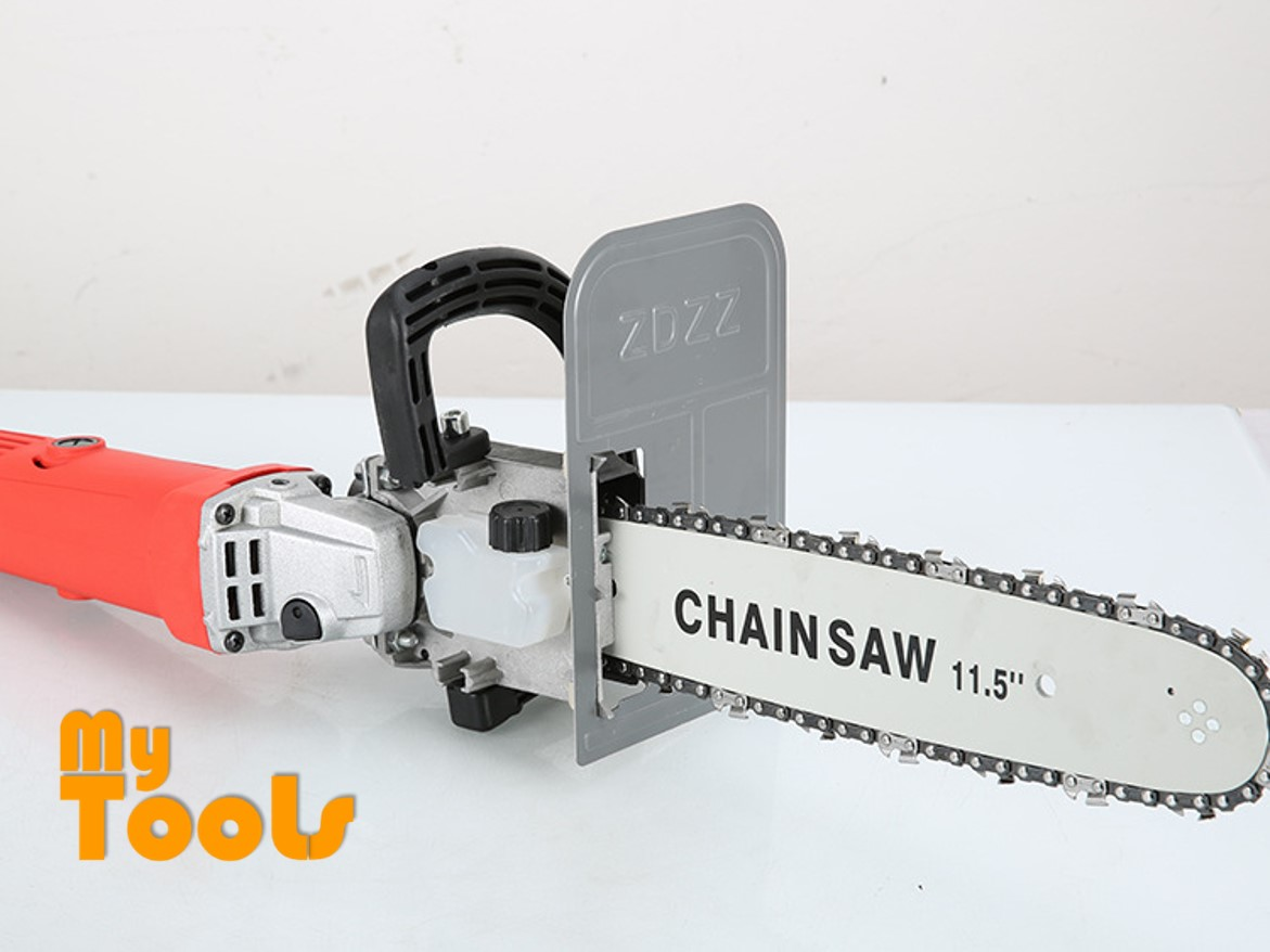 Mytools Chain Saw 11.5 Inch Chainsaw Stand Bracket With Safety Shield