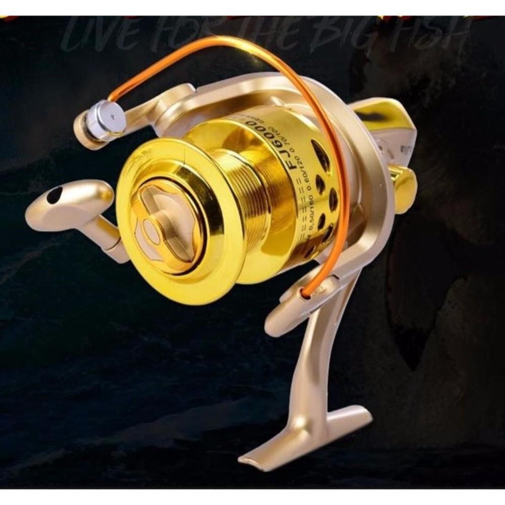 FJ Ultra Smooth 12BB Bearing Fishing Reel Aluminum Spool 4000