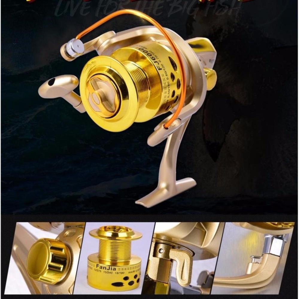 FJ Ultra Smooth 12BB Bearing Fishing Reel Aluminum Spool 3000
