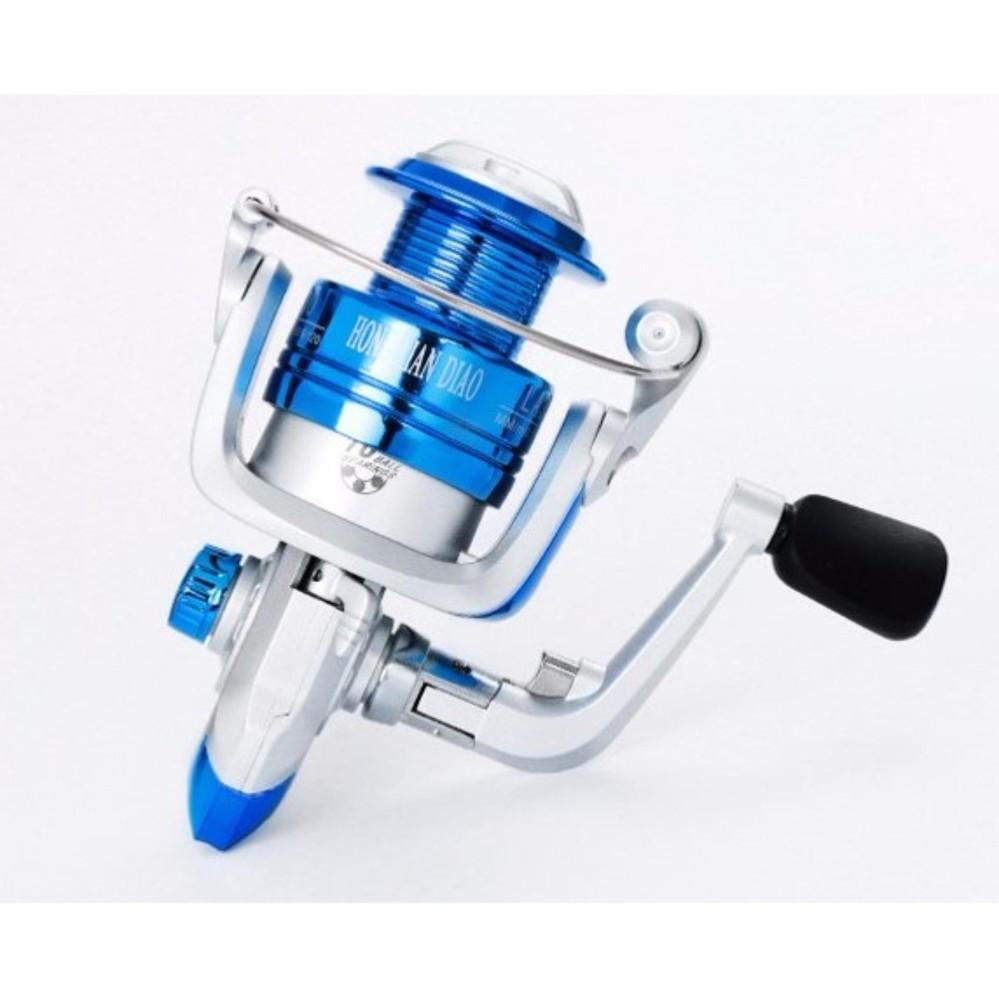LFVU Ultra Smooth Ball Bearing Fishing Takle Reel Aluminum Spool 3000