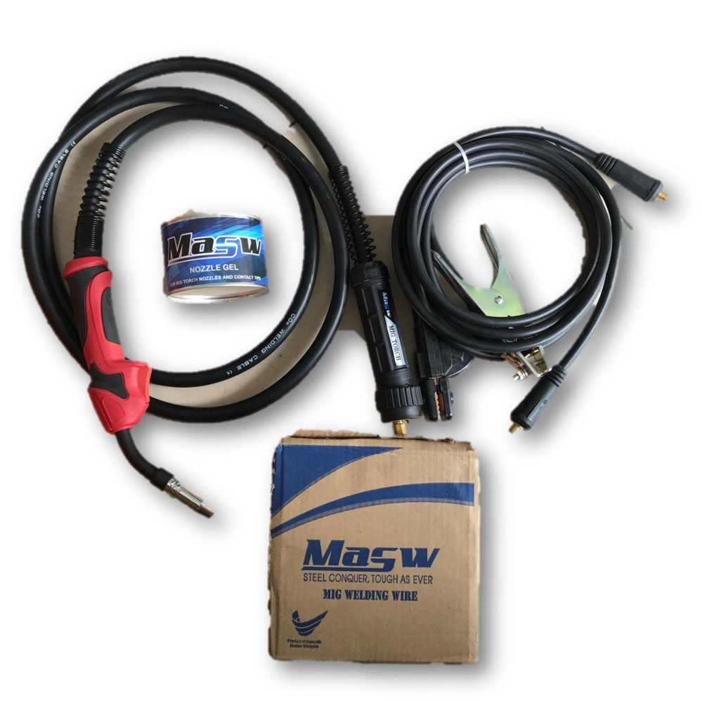 Mytools MIG200i Gas-Less MIG & ARC 2 In 1 Welding Set (Made In Malaysia)