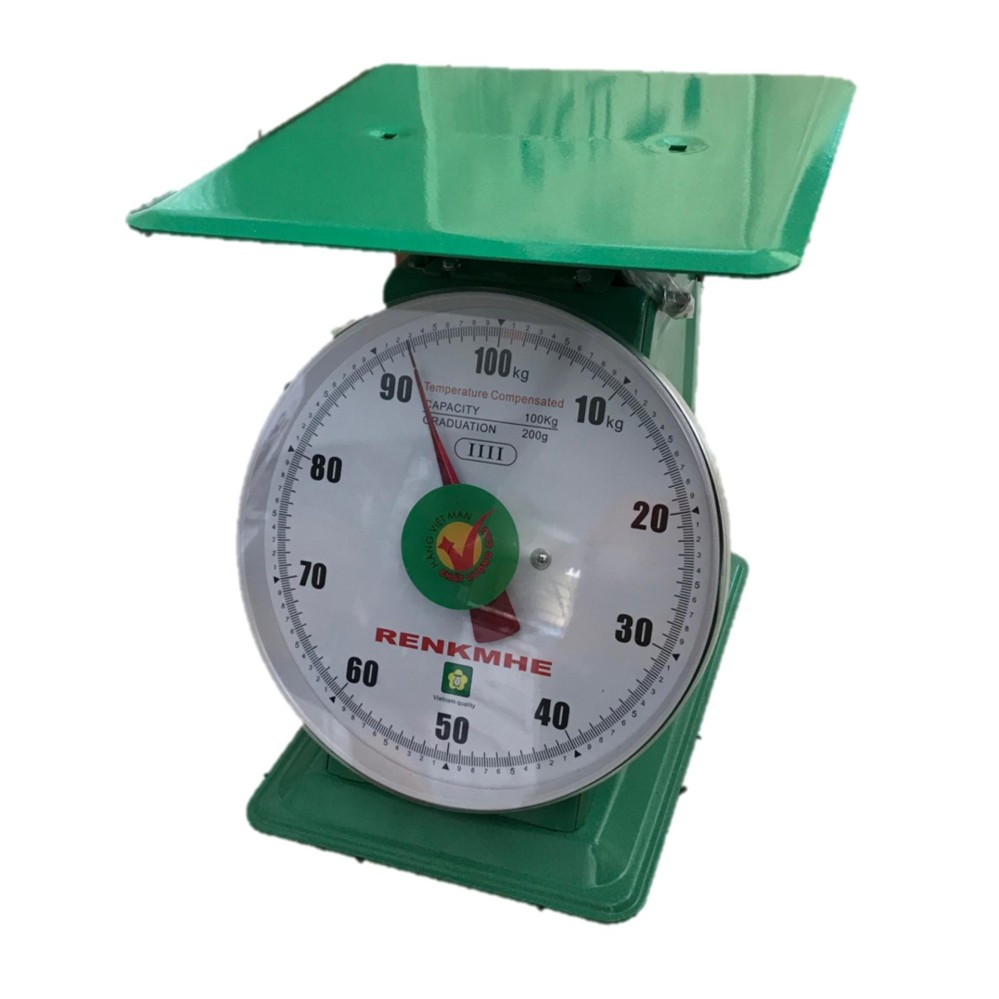 RENKMHE Analog Commercial Mechanical Weighing Scale 100kg (Vietnam)