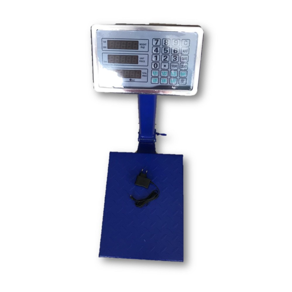 Himitzu 150kg Digital Electronic Price Platform Scale (Blue)