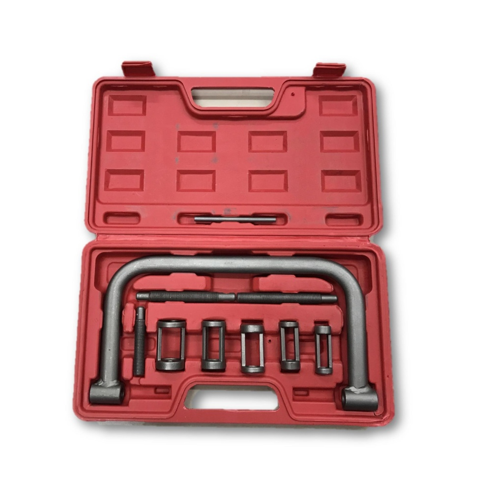 Valve Clamps Spring Compressor Repair Tool Set Kit for Car Motorcycle Automotive
