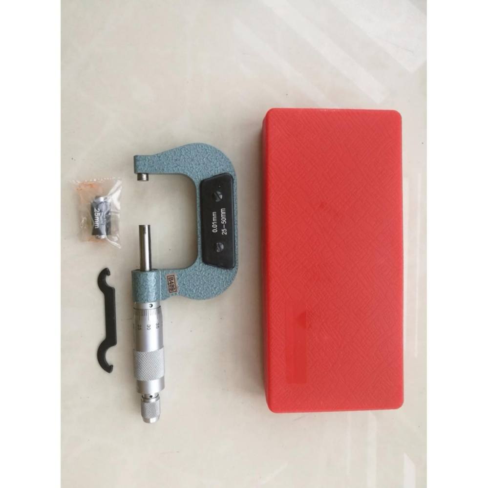 25-50mm Outside Micrometer / External Micrometer