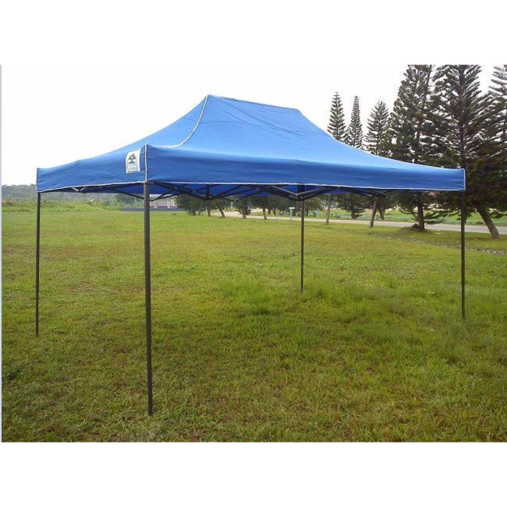 Commercial Canopy 10x15ft (3m x 4.5m) Tent Outdoor Instant Shelter + bag (Blue)