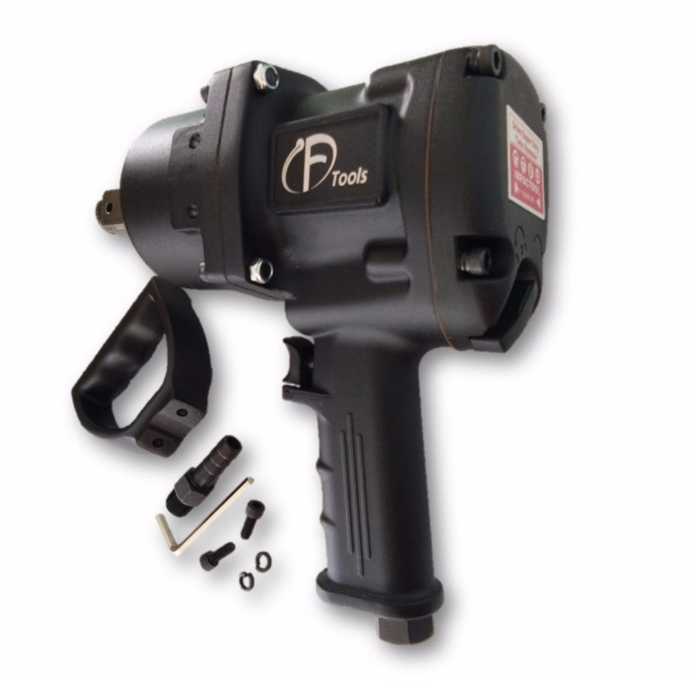 "F-tools 1"" Inch Twin Impact Drive Air Impact Wrench 2170Nm"