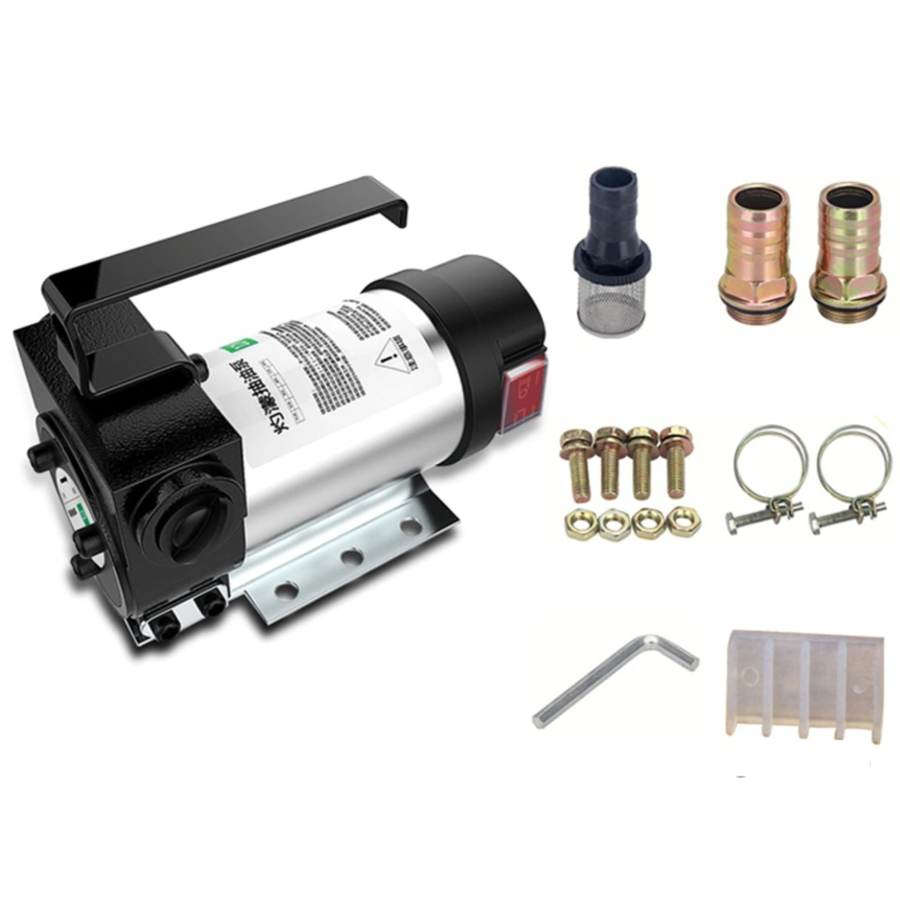 12V DC Self-Priming Liquid Diesel Transfer Flow Pump with Double Direction Pumping