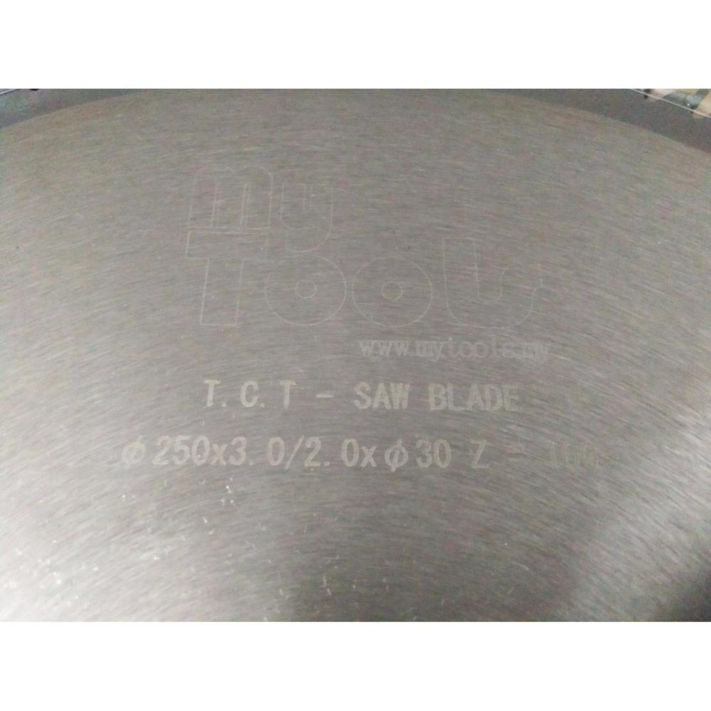 Mytools 10inch 254mm 100 Teeth Wood & Aluminium Circular Saw Blade