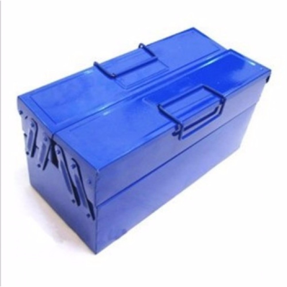 Metal Tool / Tools Box 2-Layer (Blue)