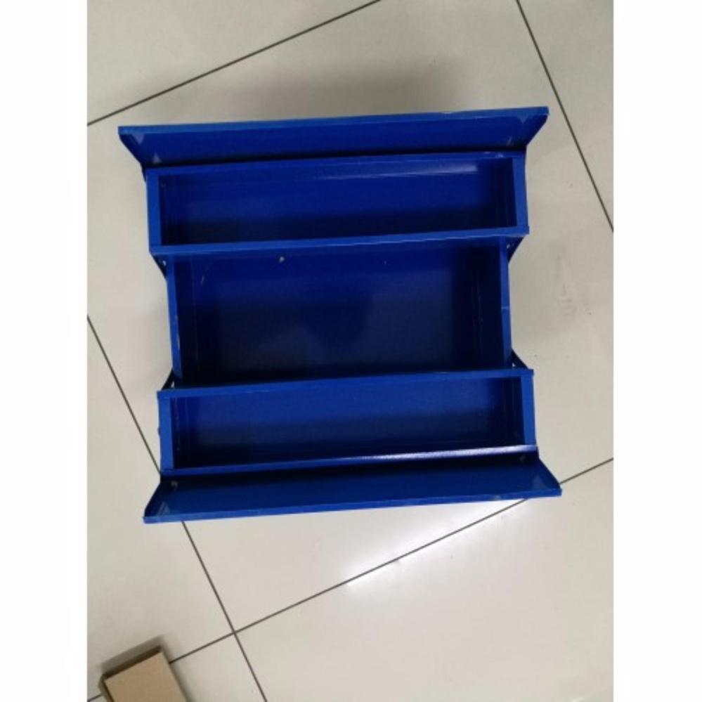 Metal Tool / Tools Box 2-Layer (Blue)