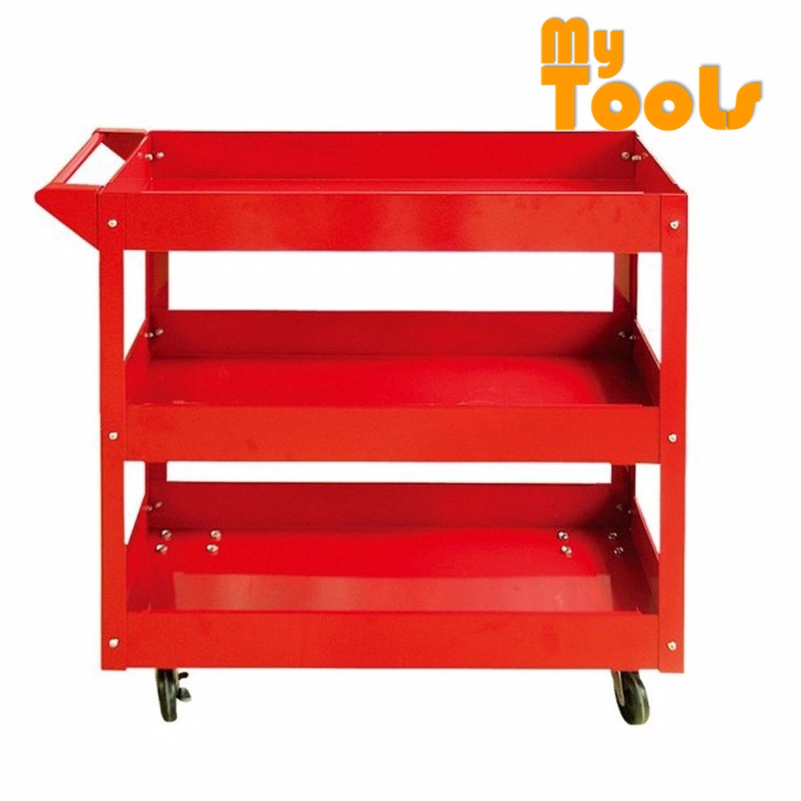 3 Layer Service Cart Tools Trolley 120kg
