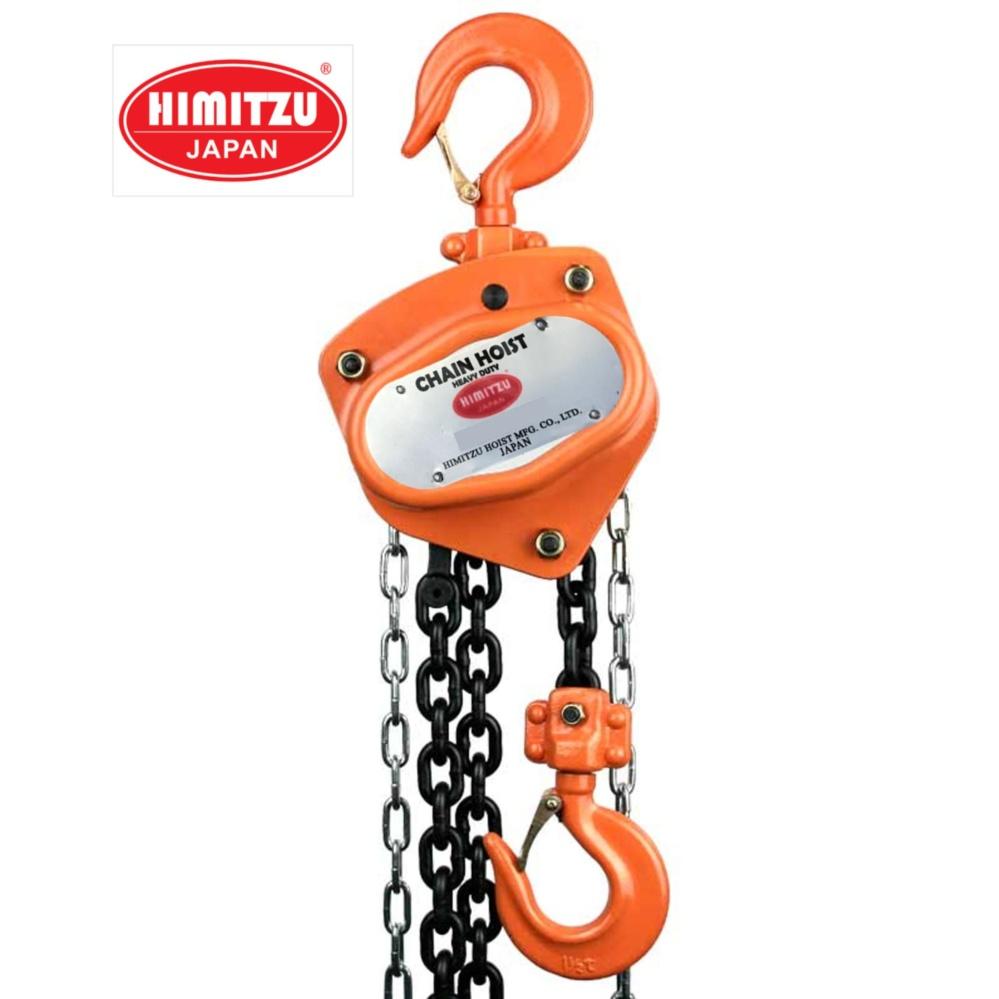 Himitzu (Japan) 1.5Ton x 3M Industrial Heavy Duty Single Strand Load Chain Block Chain Hoist