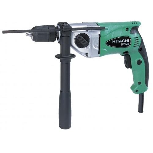 """Hitachi D13VH 690W 1/2"""" Reverse & Variable Speed Hand Drill"""
