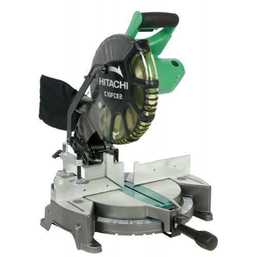 """Hitachi C10FCE2 1520W 10"""" Compound Miter Saw"""