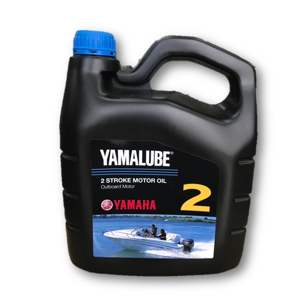 Yamaha Yamalube Genuine Lubricant Oil Two Stroke Outboard motor 4L 2T TC-W3 (Made In Japan)