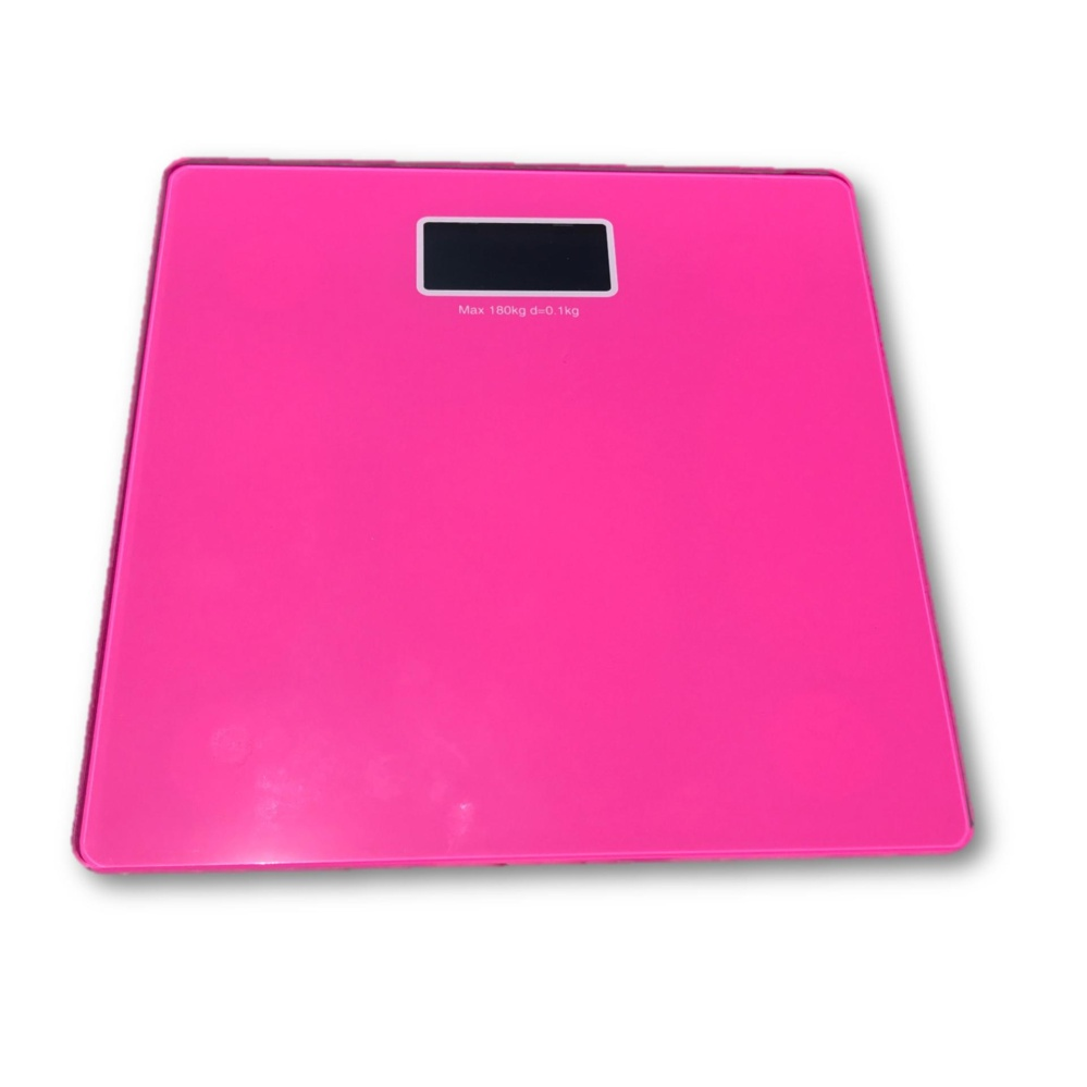 Digital Body Weight Scale Weighing Measuring Scale - PINK
