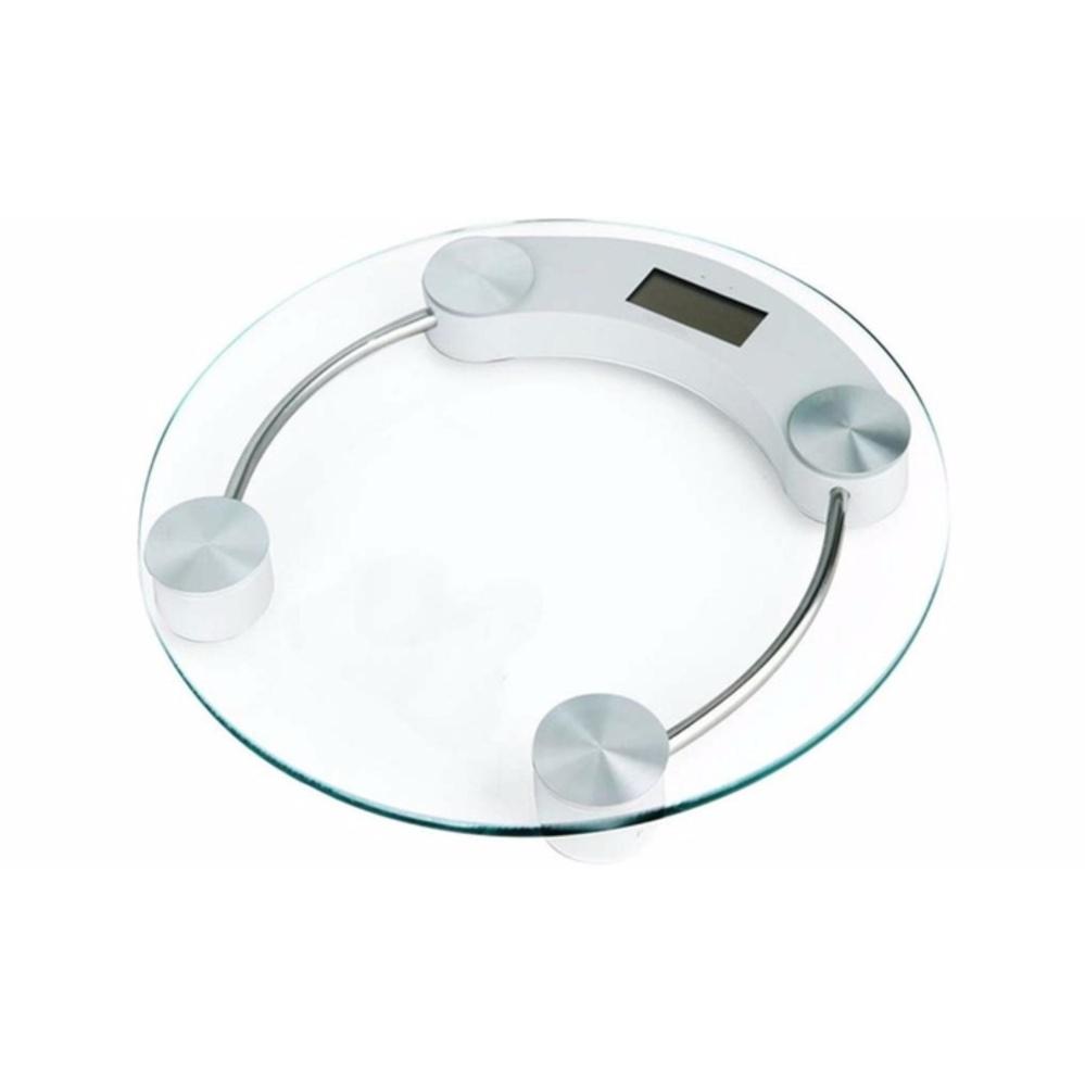 33CM Round Digital Body Scale Bathroom Scale Digital Body Weighting Machine