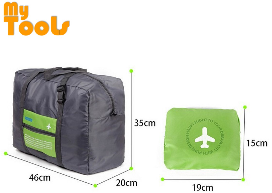 WaterProof Foldable Travel Bag Nylon Folding Unisex Luggage Handbags