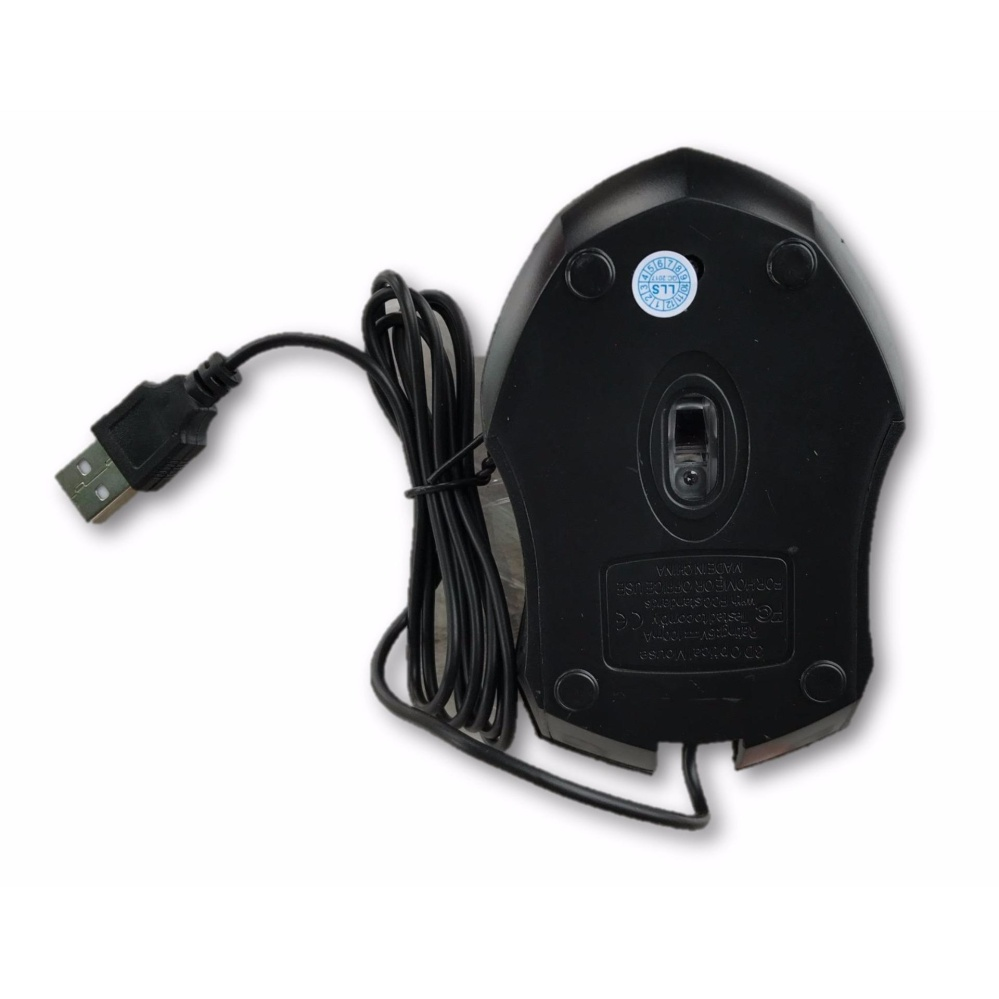 USB 3D Wired Optical Mini Mouse Mice For PC Laptop Computers