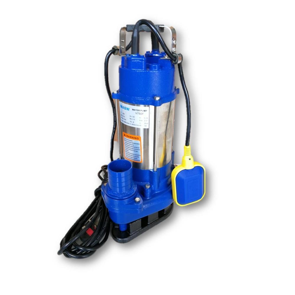 "MASW V750F 2"" x 1HP (750W) Automatic Heavy Duty Submersible Pump"