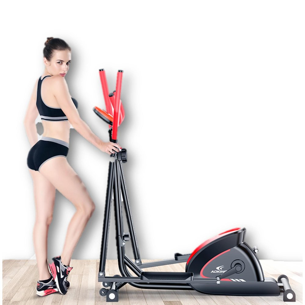 ADKing Elliptical Cross Trainer Low Impact Super Silent Bicycle Gym Slim Cycling Cycle Exercise Bike