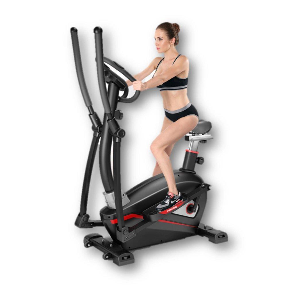 ADKING T911 2 In 1 Elliptical Fitness Equipment Cross Trainer Exercise Elliptical Bike For Indoor Cy