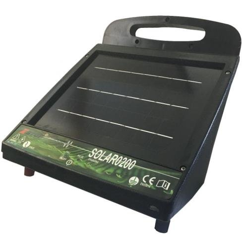 X Stop SOLAR0200 Solar Fence Energizer 2km / 0.45J (New Zealand)