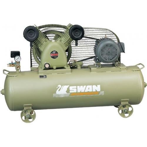 Swan SVP205 5HP 155Liter 8Bar Air Compressor (Made In Taiwan)
