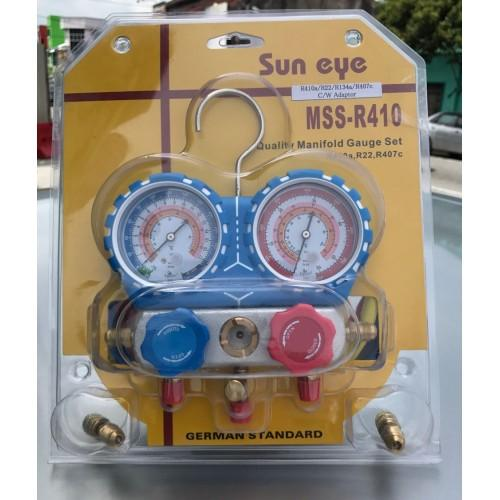 R410a Air Cond Manifold Gauge (Heavy Duty)